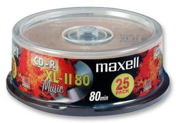 Maxell CD-R Blank CDs - Pack of 25