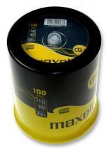 Maxell 52x Speed CD-R Blank CDs - Pack of 100