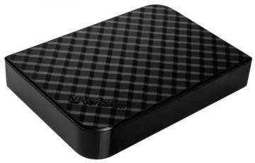 Verbatim Store 'n' Save USB 3.0 External Hard Drive, 4TB