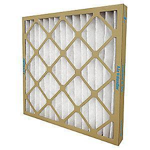 Air Handler 20x25x2 Synthetic Pleated Air Filter with MERV 8