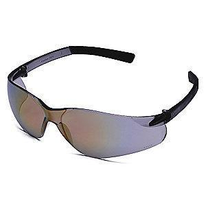 Condor Wasko Scratch-Resistant Safety Glasses, Red Mirror Lens Color