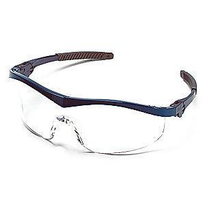 Condor Thunder Scratch-Resistant Safety Glasses, Clear Lens Color