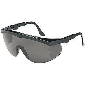 Condor Spirit Scratch-Resistant Safety Glasses, Gray Lens Color