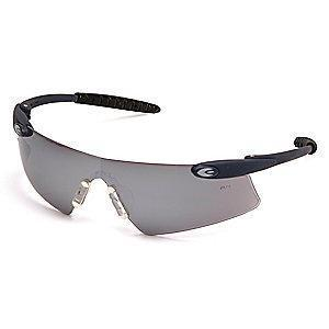 Condor Persuader Scratch-Resistant Safety Glasses, Silver Mirror Lens Color