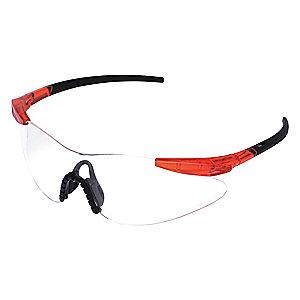 Condor Persuader II Scratch-Resistant Safety Glasses, Clear Lens Color