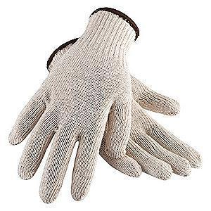 Condor Natural Knit Gloves, Cotton, Size L