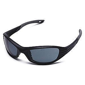 Condor Heat Scratch-Resistant Safety Glasses, Gray Lens Color