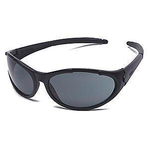 Condor Freeze II Scratch-Resistant Safety Glasses, Gray Lens Color