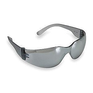 Condor V Scratch-Resistant Safety Glasses, Silver Mirror Lens Color
