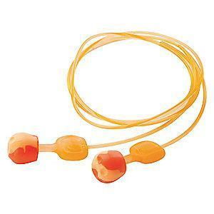Howard Leight 28dB Reusable Pod-Shape Ear Plugs; Corded, Orange, Universal