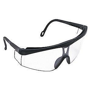 Jackson Safety V50 CUDAS Scratch-Resistant Safety Glasses, Clear