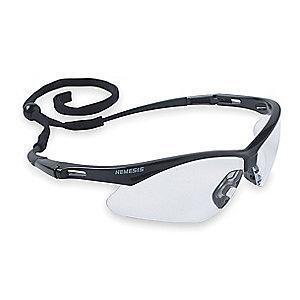 Jackson Safety V30 Nemesis Scratch-Resistant Safety Glasses, Clear