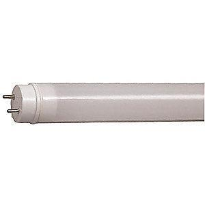 GE 9.0W LED Lamp, T8, Medium Bi-Pin (G13), 1100 lm, 3000K
