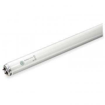 "GE 48"" 40W Linear Fluorescent Lamp, T12, Medium Bi-Pin (G13), 2100 lm, 4100K"