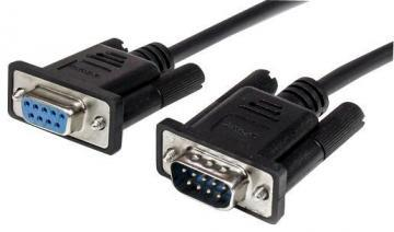Startech 0.5m 9 Way D Male to Female RS232 Serial Cable