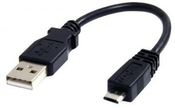 Startech 0.15m USB A Male To Micro B Male Lead