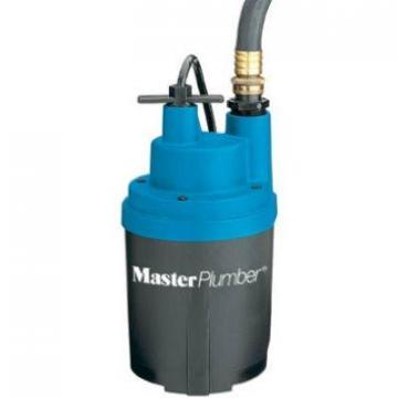 Master Plumber Smart Geyser Automatic Submersible Utility Pump, .25-HP, 1800 GPH