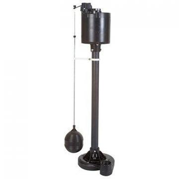 Master Plumber Column Sump Pump, Cast Iron, .5-HP Motor