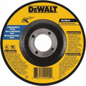 "Dewalt 3"" Type 1 Aluminum Oxide Cut-Off Wheel, 1/4"" Arbor, 1/8""-Thick"