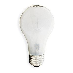 GE 95W Incandescent Lamp, A19, Medium Screw (E26), 1510 lm, 2800K