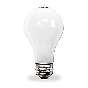GE 71W Incandescent Lamp, A19, Medium Screw (E26), 1040/780 lm, 2800K
