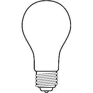 GE 70/170/240W Incandescent Lamp, A21, Medium Screw (E26), 3600/2800/800 lm