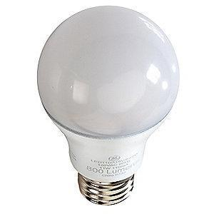 GE 7.0W LED Lamp, A19, Medium Screw (E26), 470 lm, 2700K