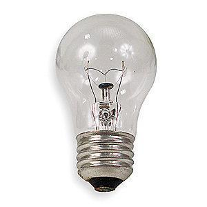 GE 60W Incandescent Lamp, A15, Medium Screw (E26), 650 lm, 2700K