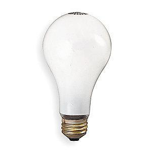 GE 53/60W Incandescent Lamp, A19, Medium Screw (E26), 500/380 lm, 2800K