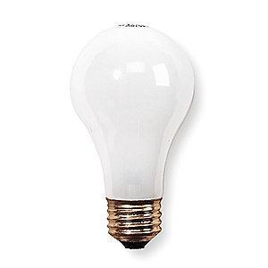 GE 53/60W Incandescent Lamp, A19, Medium Screw (E26), 500/380 lm, 2700K