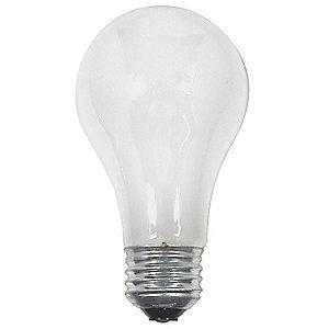 GE 43W Halogen Lamp, A19, Medium Screw (E26), 620 lm, 2700K