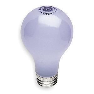 GE 40W Incandescent Lamp, A19, Medium Screw (E26), 360 lm, 2725K