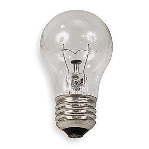 GE 40W Incandescent Lamp, A15, Medium Screw (E26), 415 lm, 2600K