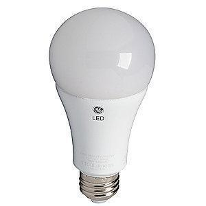 GE 4.0/10/16W LED Lamp, A21, Medium Screw (E26), 400/1600/1050 lm, 2700K