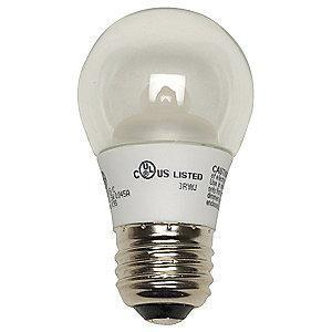 GE 4W LED Lamp, A15, Medium Screw (E26), 300 lm, 2700K