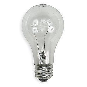 GE 25W Incandescent Lamp, A19, Medium Screw (E26), 215 lm, 2700K