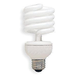 GE 23W Screw-In CFL, T3, Medium Screw (E26), 1600 lm, 2700K