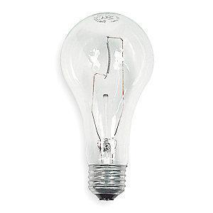 GE 200W Incandescent Lamp, A21, Medium Screw (E26), 3780 lm, 2900K