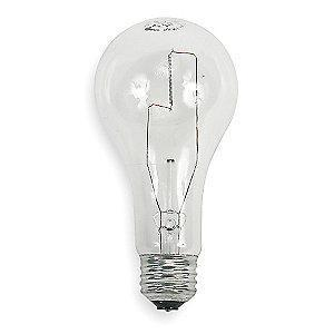 GE 150W Incandescent Lamp, A21, Medium Screw (E26), 2850 lm, 2800K