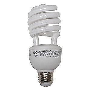 GE 13/19/26W Screw-In CFL, T3, Medium Screw (E26), 600/1150/1750 lm, 2700K