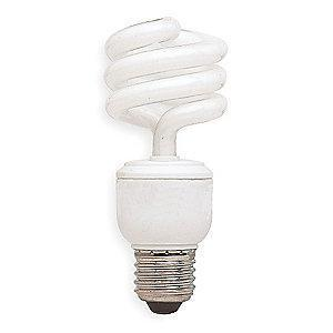 GE 13.0W Screw-In CFL, T3, Medium Screw (E26), 855 lm, 5000K