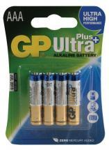 GP Ultra Plus Alkaline AAA Batteries 4 Pack