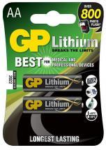 GP Lithium AA Batteries 2 Pack