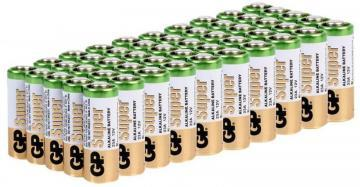 GP High-Voltage Super Alkaline 12V Batteries 50 Pack (Bulk)