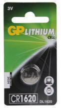 GP CR1620 Lithium Button Cell 3V Battery