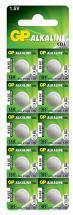 GP Alkaline Button Cell 1.5V Batteries LR54 10 Pack