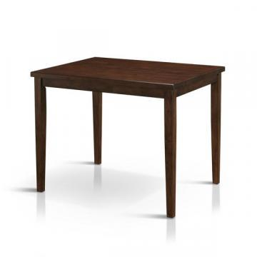 Furniture of America Tenor Mid-century Modern Brown Cherry Dining Table