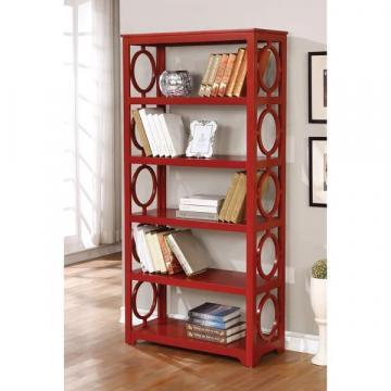 Furniture of America Avenor Contemporary 5-tier Open Display Shelf