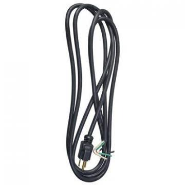 Master Electrician 9 Foot 16/3 SJTW Black Power Supply Replacement Cord