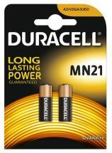 Duracell MN21 12V Car Alarm/Transmitter Batteries, 2 Pack